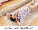 people  repair and renovation...   Shutterstock . vector #326635421
