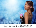 party  drinks  holidays  luxury ... | Shutterstock . vector #326638115
