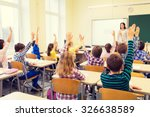 education  elementary school ... | Shutterstock . vector #326638589