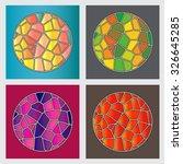 vector set abstract mystical... | Shutterstock .eps vector #326645285