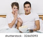 a young  attractive couple is... | Shutterstock . vector #32665093