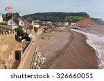 Sidmouth Seafront Devon Englan...