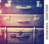 Old Antique Vintage Trunks In ...