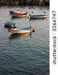 little fishing boat moored in... | Shutterstock . vector #3266747