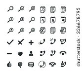 business icon set. can be used...