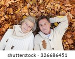 active seniors lying on the... | Shutterstock . vector #326686451