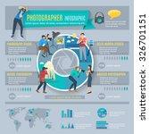 photographer infographics set... | Shutterstock .eps vector #326701151