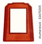vintage red frame | Shutterstock . vector #32670205