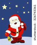 santa claus | Shutterstock .eps vector #326743361