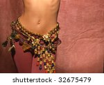 necklaces around the hips of a