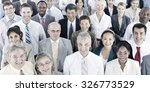 business people audience team... | Shutterstock . vector #326773529