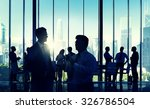 business people discussion... | Shutterstock . vector #326786504