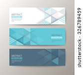 set of modern design banners... | Shutterstock .eps vector #326789459