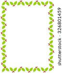 colorful christmas border  ... | Shutterstock . vector #326801459
