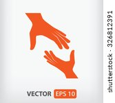 help icon. one of set web icons | Shutterstock .eps vector #326812391