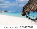 Grass Leaf Palm Sun Umbrella...