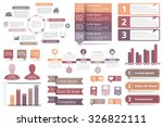 set of infographic elements  ...