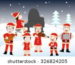 i give a concert in three... | Shutterstock .eps vector #326824205