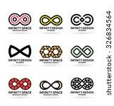 infinity symbols  7  | Shutterstock .eps vector #326834564