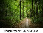 green forest and trees | Shutterstock . vector #326838155