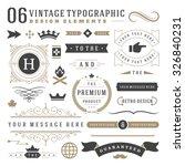 retro vintage typographic...