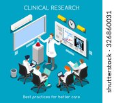 clinic research medical... | Shutterstock . vector #326860031