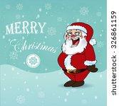 christmas card | Shutterstock .eps vector #326861159