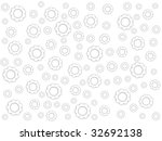 white background with white...   Shutterstock . vector #32692138