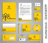 corporate identity branding... | Shutterstock .eps vector #326928599