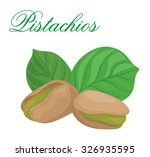 pistachios | Shutterstock .eps vector #326935595