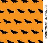 bat halloween vector pattern