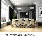 room of negotiation at office... | Shutterstock . vector #3269926
