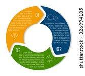 vector round infographic... | Shutterstock .eps vector #326994185
