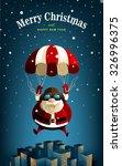 santa claus | Shutterstock .eps vector #326996375