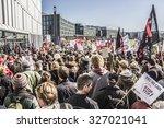 berlin  germany   october 10 ... | Shutterstock . vector #327021041