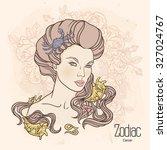 zodiac. vector illustration of... | Shutterstock .eps vector #327024767