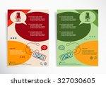 microphone multimedia symbol on ... | Shutterstock .eps vector #327030605