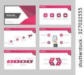 pink purple multipurpose... | Shutterstock .eps vector #327032555
