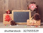Chalkboard Mock Up With...