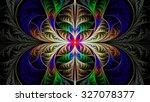 extraordinarily beautiful... | Shutterstock . vector #327078377
