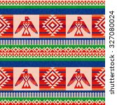 colorful striped textile ethnic ... | Shutterstock .eps vector #327080024