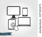 electronic devices. smartphone...