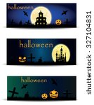 halloween  vector. | Shutterstock .eps vector #327104831