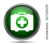 medical bag icon. internet... | Shutterstock . vector #327120155