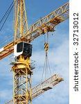 crane in the sky of brussels | Shutterstock . vector #32713012