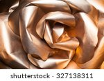 Golden Rose With Paper Petals ...