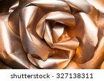 Golden Rose With Paper Petals ...