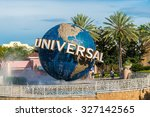 orlando  usa   august 27  2015  ... | Shutterstock . vector #327142565