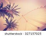 retro vintage toned photo of... | Shutterstock . vector #327157025