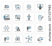 business and finances icons set.... | Shutterstock . vector #327157985